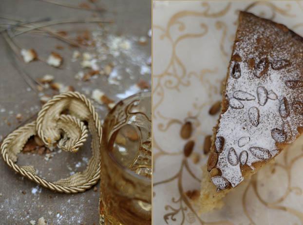 Tuscan torta di nonna pine nut cake