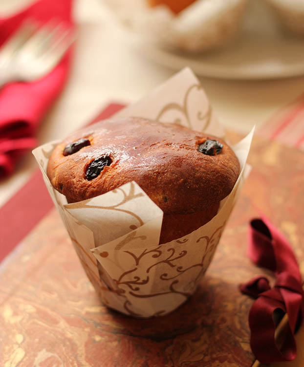 Mini panettone recipe easy and quick
