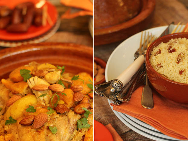 chicken, date & almond tagine recipe