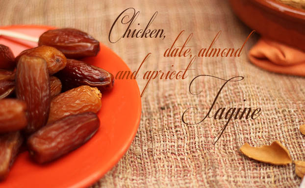 Chicken date and almond tagine recipe