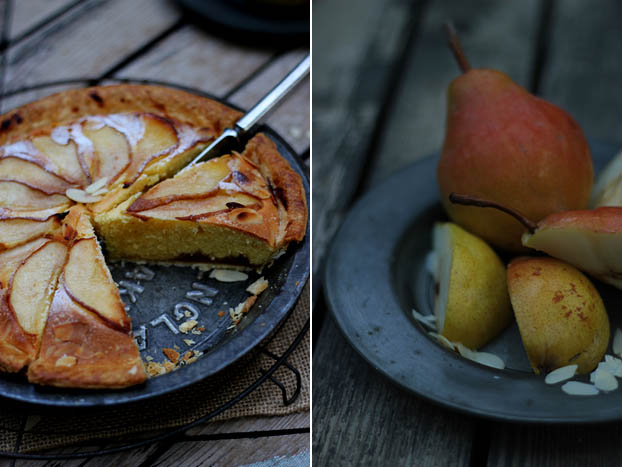 pear bakewell tart recipe