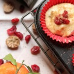 cranberry Christmas muffins
