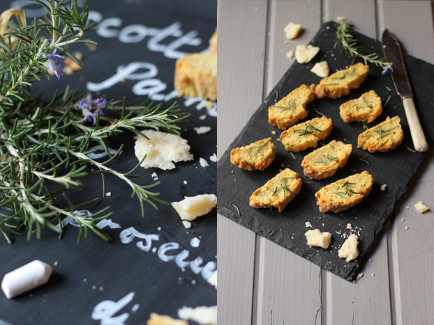 Italian Parmesan and rosemary biscuit recipe