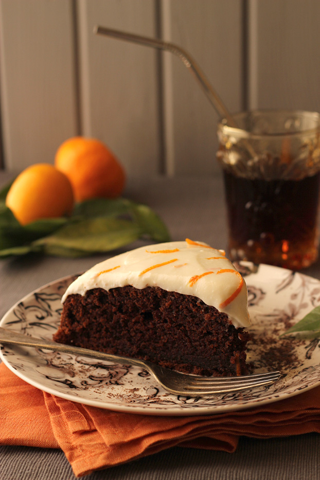 Kinnie Chocolate Orange Cake