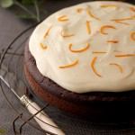 Chocolate orange Kinnie cake