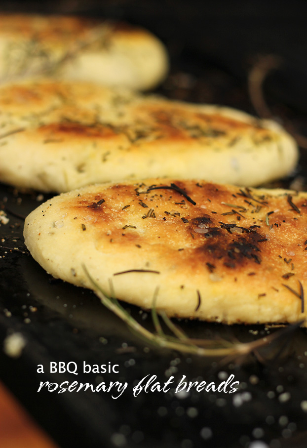 BBQ Flat breads - pitta