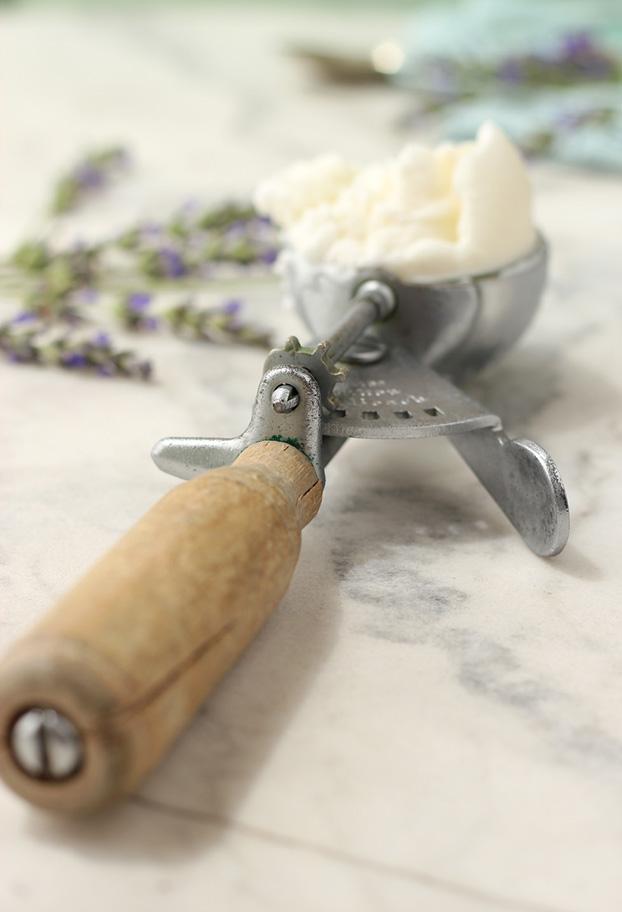 Fiordilatte lavender ice cream