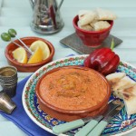 'East & West' Mediterranean red pepper dip