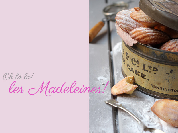 Madeleines recipe