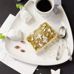 Pistacchio Parfait with White Chocolate