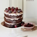 'La Vie en Rose' Chocolate Cherry Cake