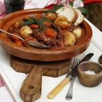 Rabbit Stew Maltese style or 'Stuffat tal-Fenek'