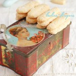 Savoiardi biscuits or ladies' fingers