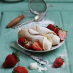 Strawberry Cream Cannoli
