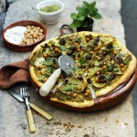 Pizza 'Lebanon' with Spicy Lamb & Chickpeas {Simple Summer Suppers #6}
