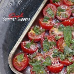 Two Tomato Tart {Summer Supper #10}