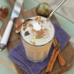 Fig Smoothie with Cinnamon