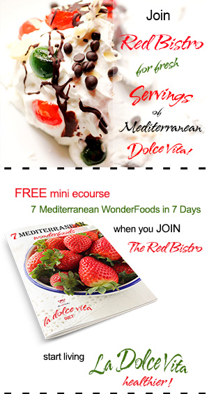 Red Bistro newsletter signup form
