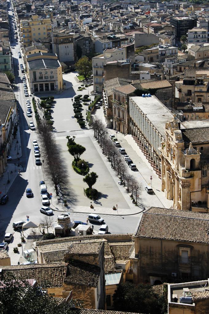 Piazza Italia Scicli Sicily