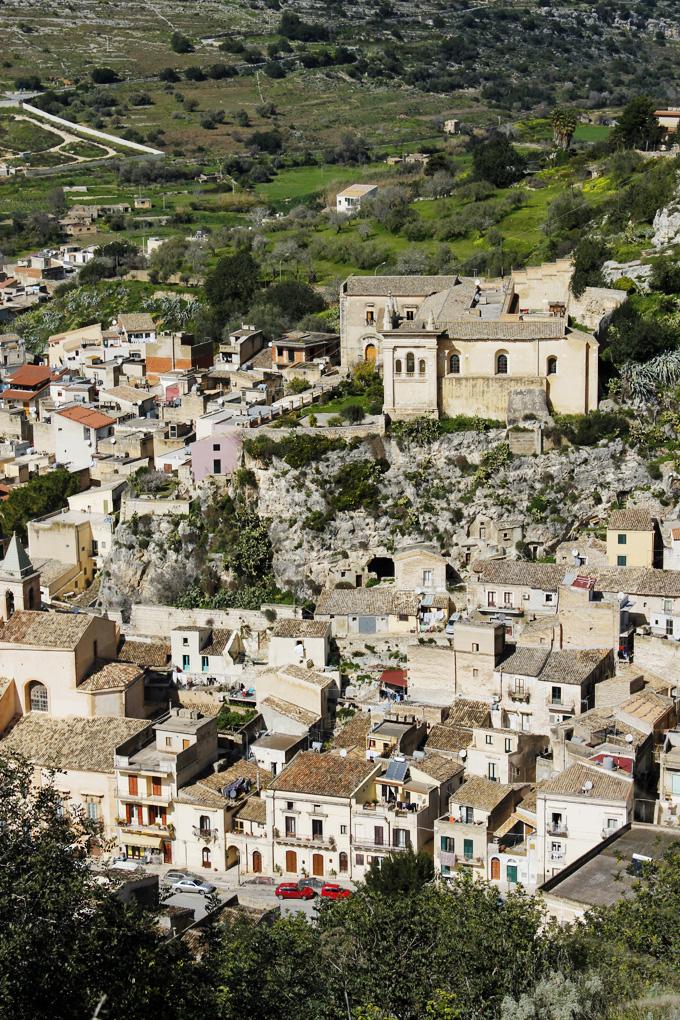 Scicli Sicily town view