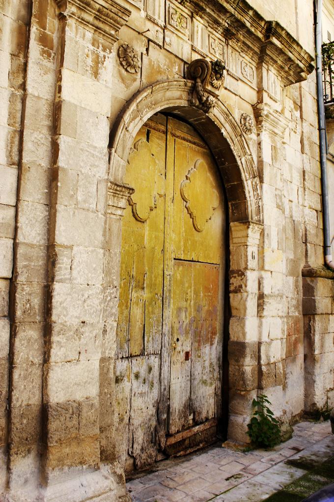 old green door Scicli Sicily