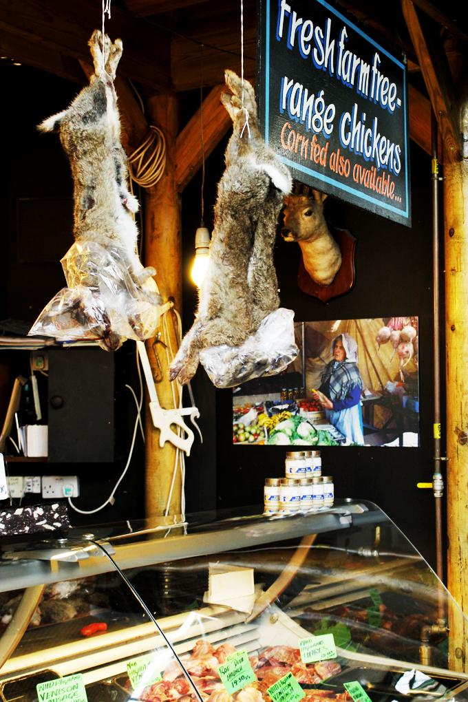 Rabbits for sale at Borough Market, London