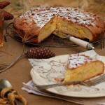 Tuscan pine nut cake torta di nonna